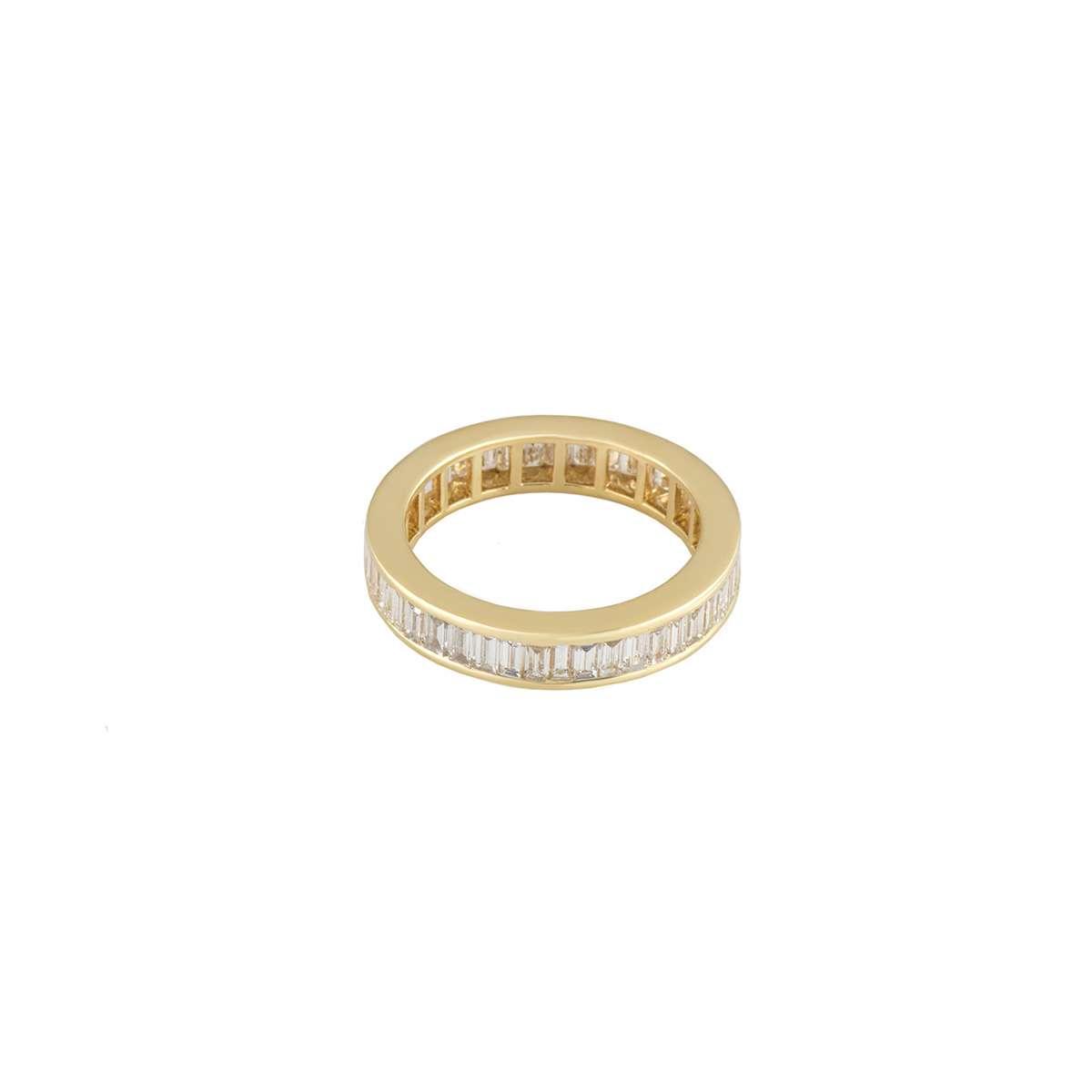 Yellow Gold Diamond Eternity Ring 1.35ct